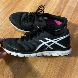Asics Women's Size 7 Gel Zaraca 4 Black run Shoes